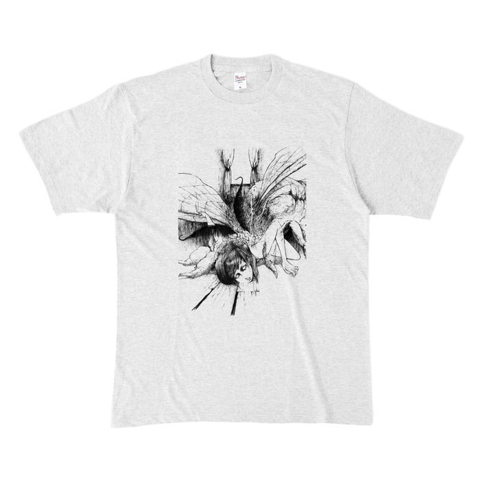 カラーTシャツ(淡色) - XL - アッシュ