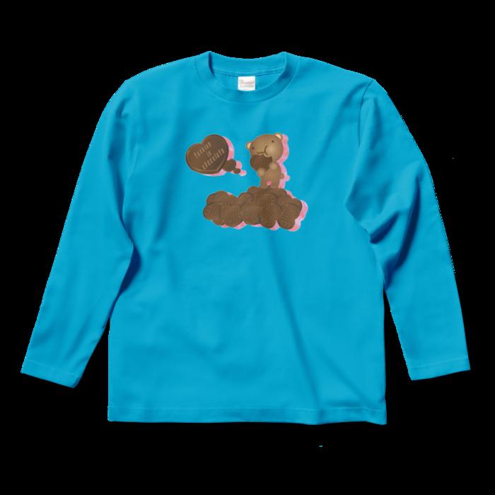 ロングスリーブTシャツ - S - ターコイズ