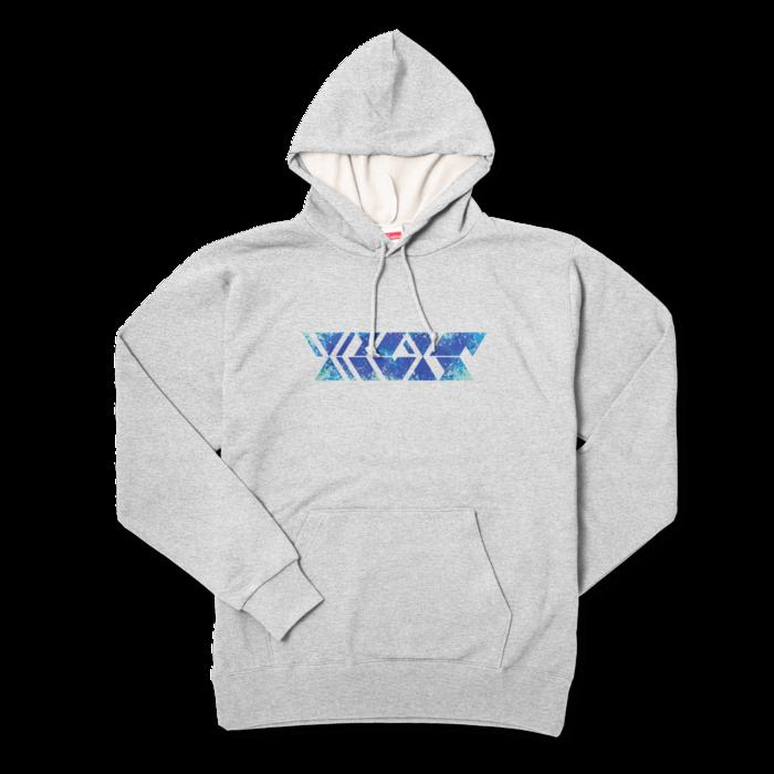 オーシャンブルー - XL - 杢グレー