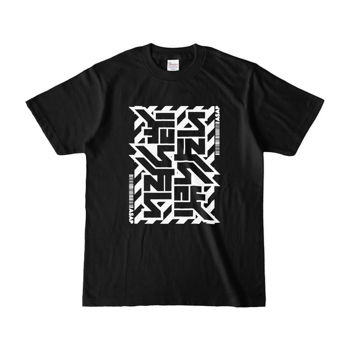 カラーTシャツ(濃色) - S - ブラック
