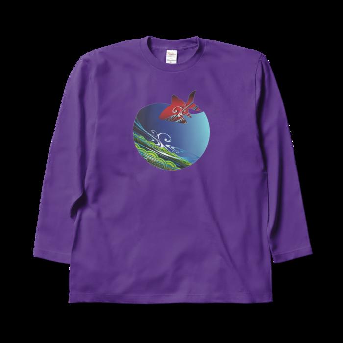 ロングスリーブTシャツ - XL - パープル