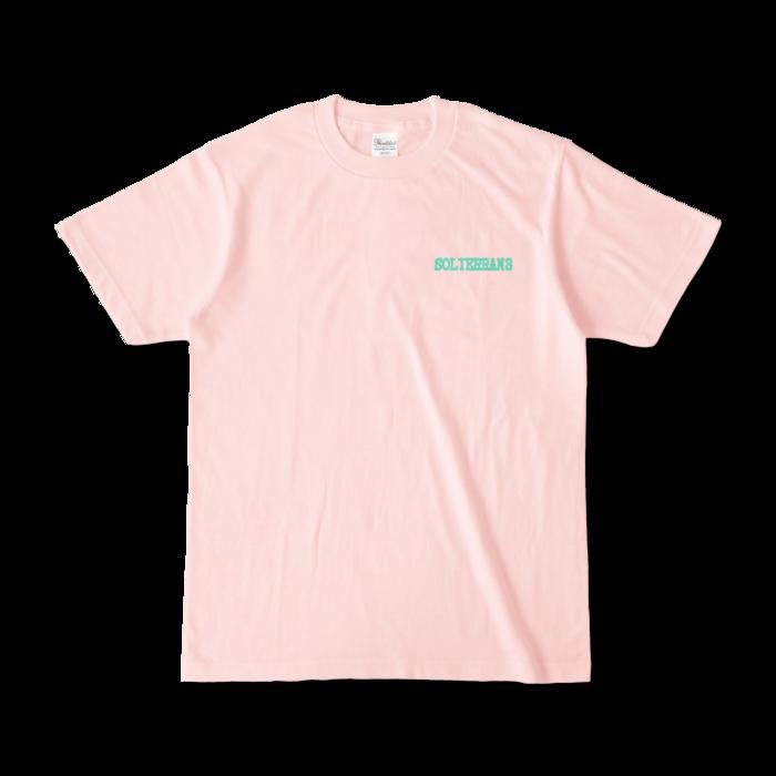 カラーTシャツ - S - ライトピンク (淡色)