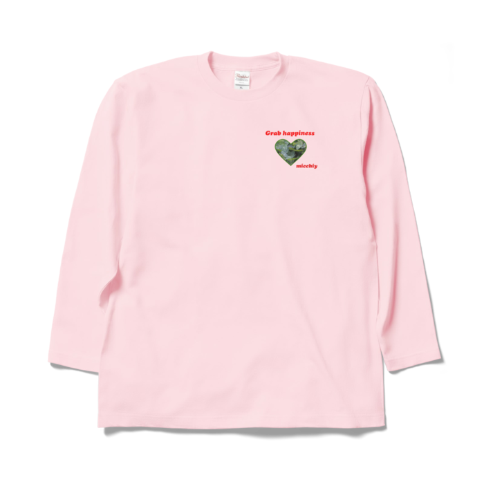 ロングスリーブTシャツ - XL - ライトピンク