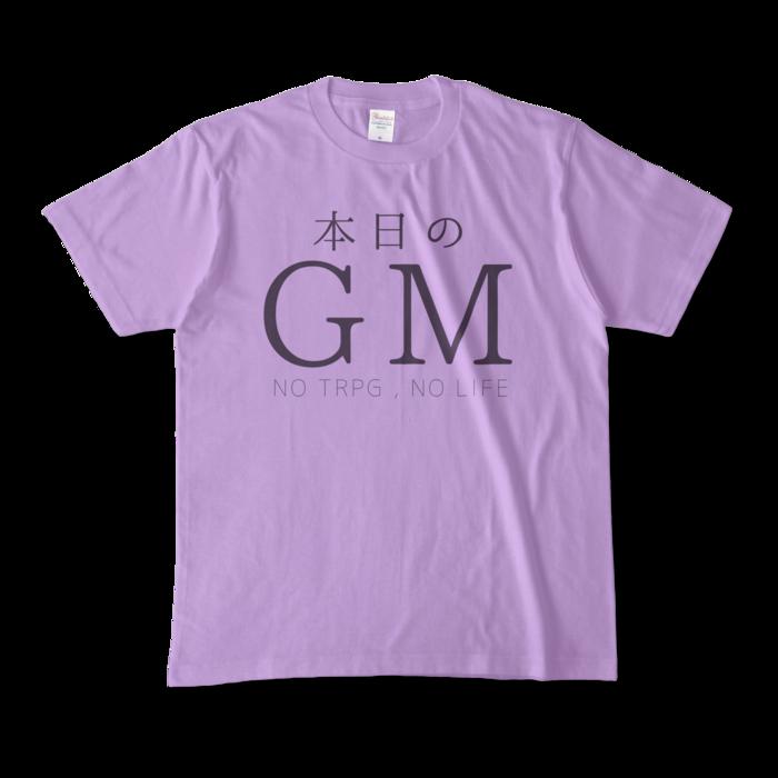 カラーTシャツ - M - ライトパープル