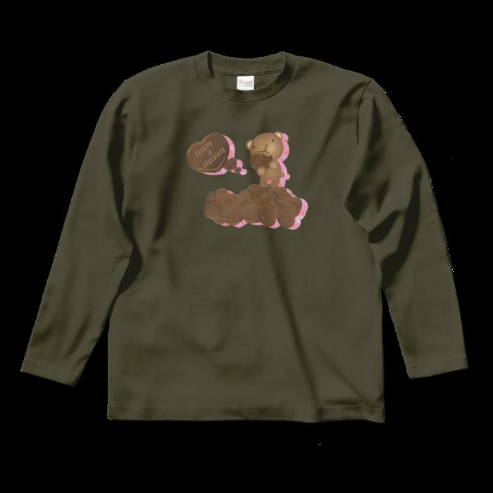 ロングスリーブTシャツ - S - アーミーグリーン