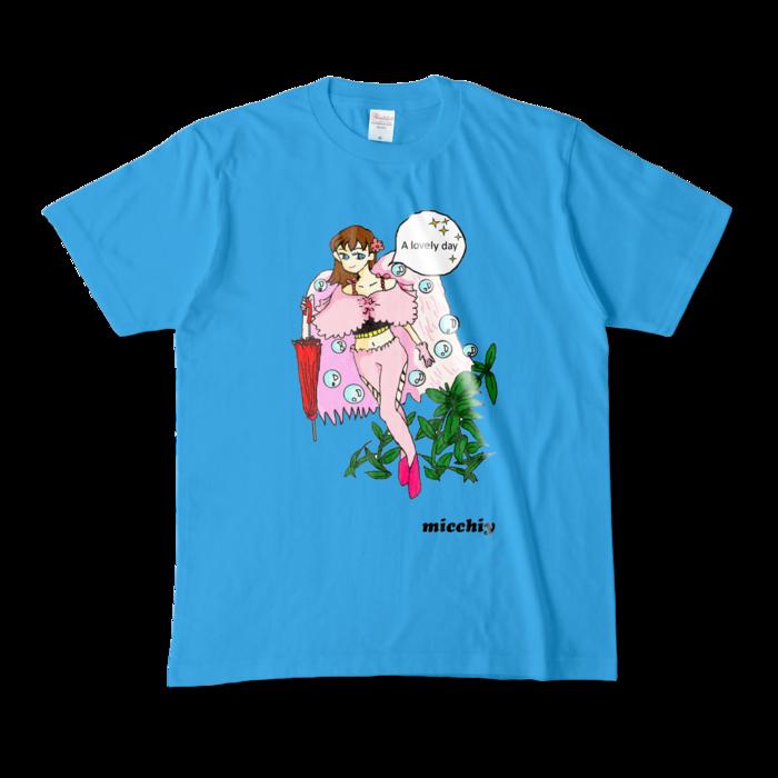 カラーTシャツ - M - ターコイズ