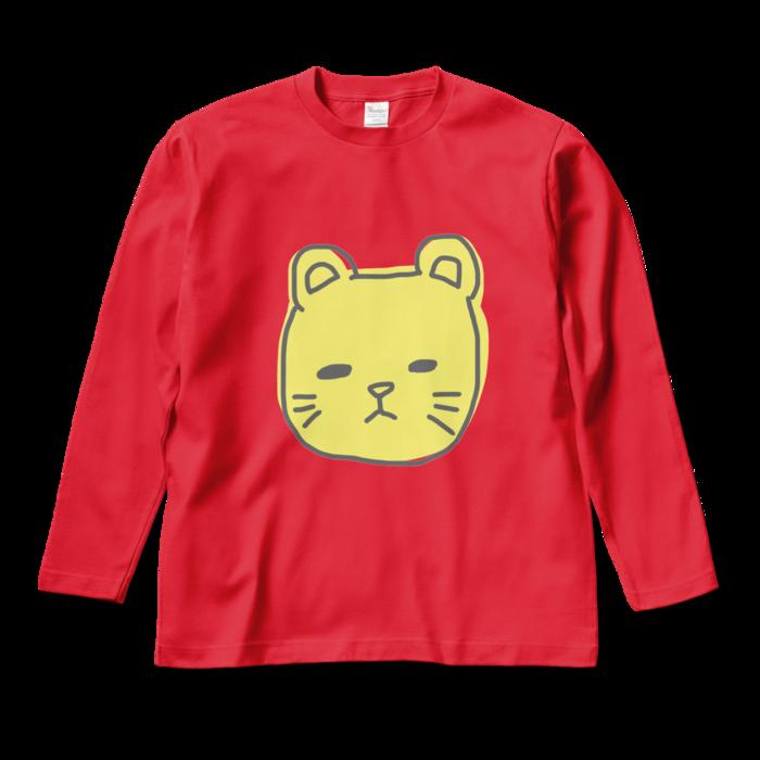 ロングスリーブTシャツ - M - レッド