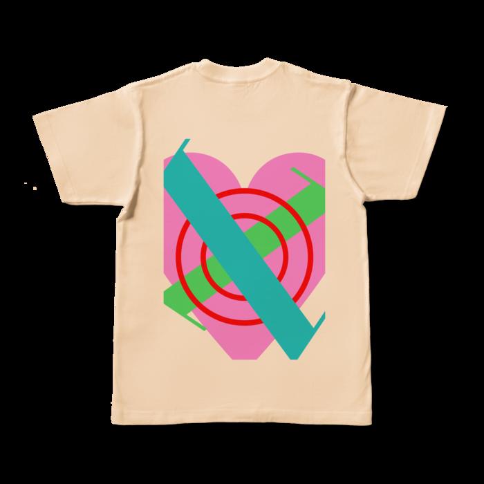 カラーTシャツ - S - ナチュラル (淡色)