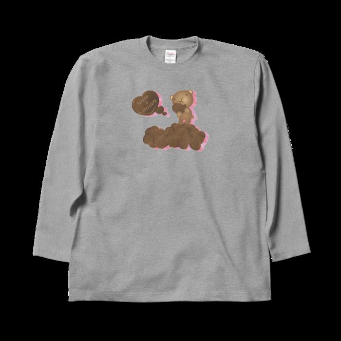 ロングスリーブTシャツ - XL - 杢グレー