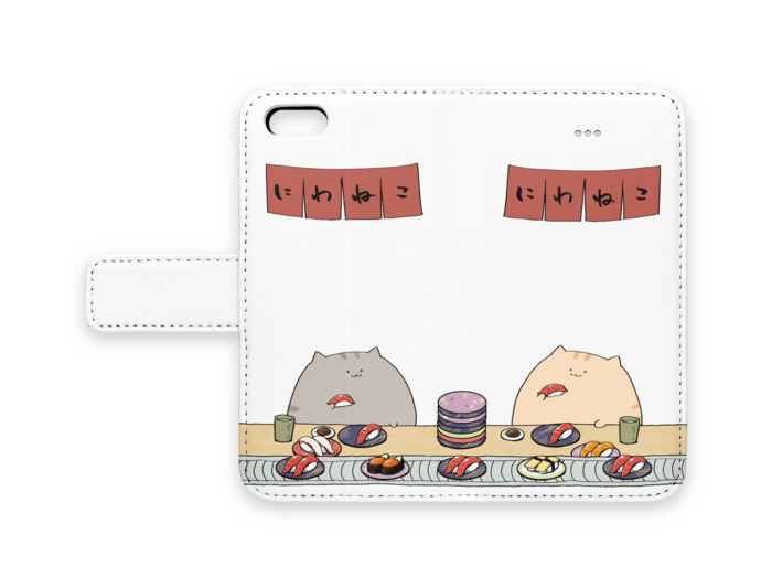 手帳型iPhoneケース - iPhone 5 / 5s / SE - ストラップ穴 なし
