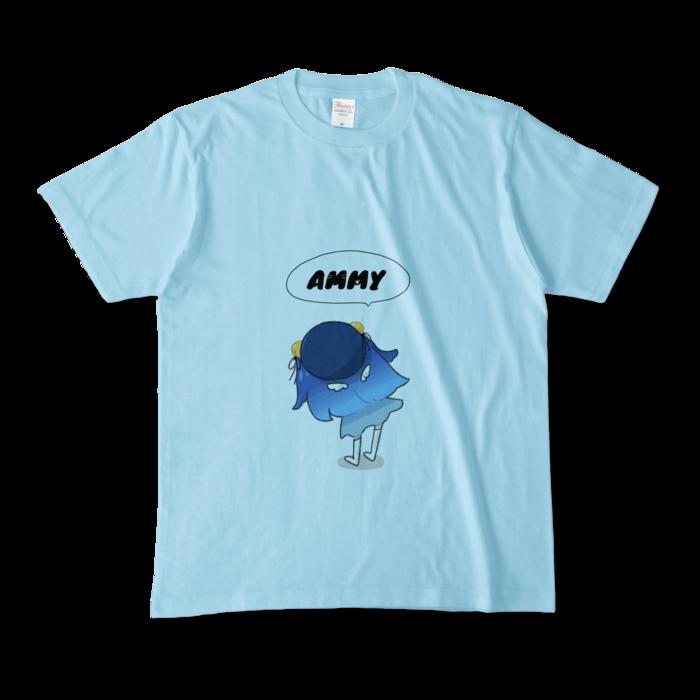 カラーTシャツ - M - ライトブルー
