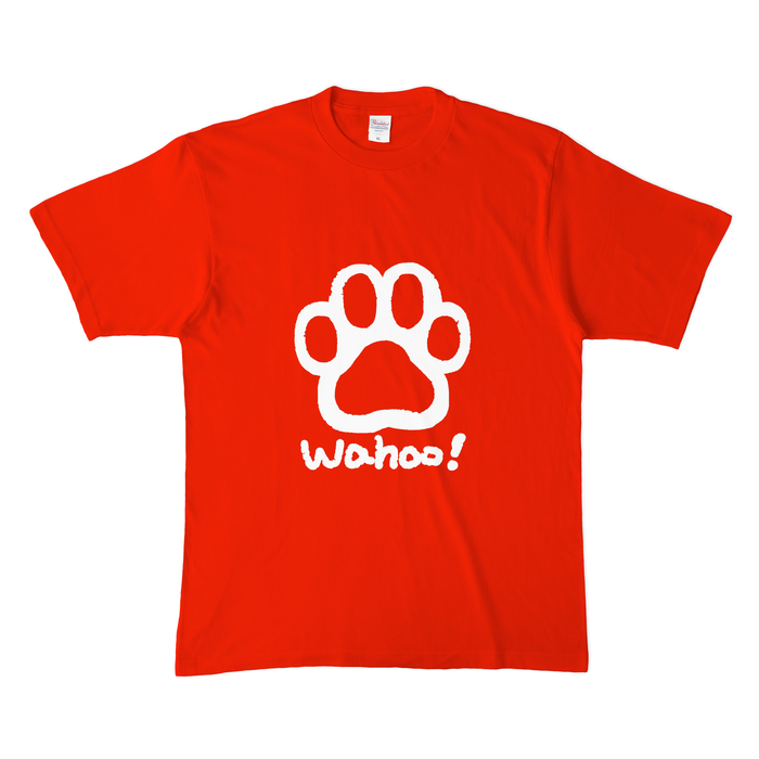 カラーTシャツ(濃色) - XL - レッド