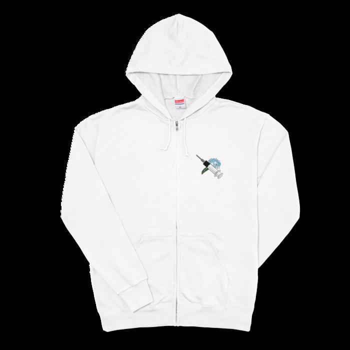ホワイト - XL -