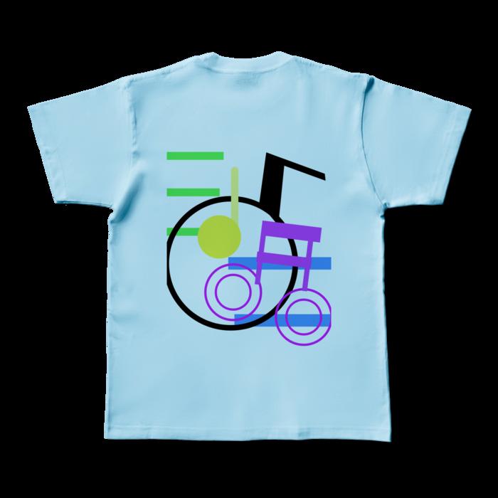 カラーTシャツ - M - ライトブルー (淡色)