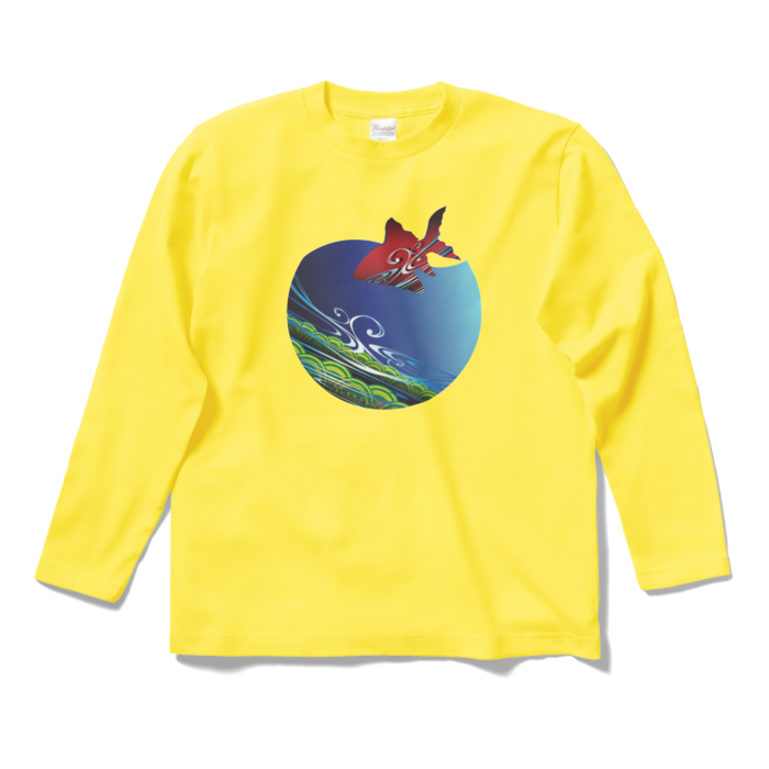 ロングスリーブTシャツ - S - イエロー