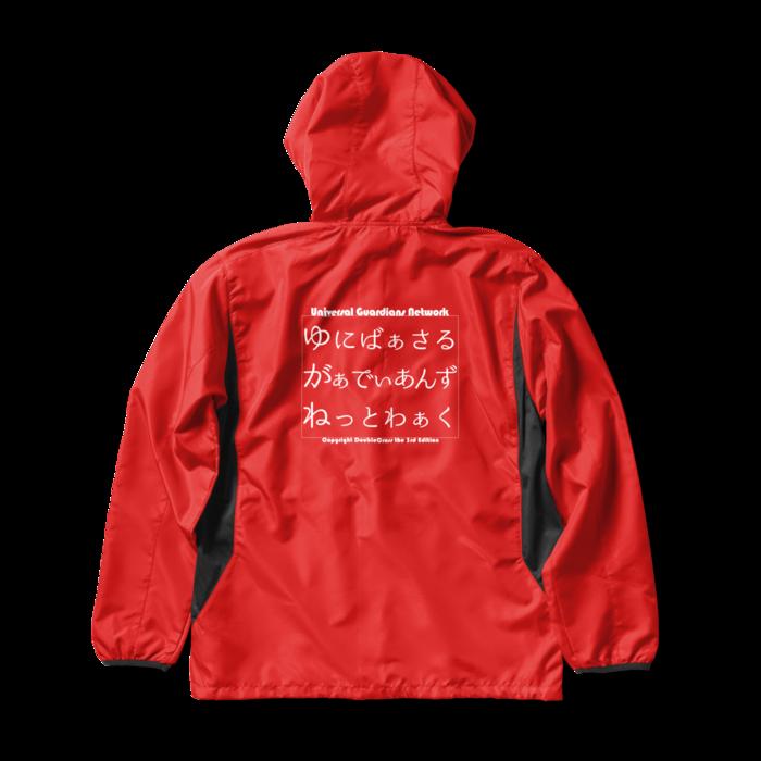 ウインドブレーカー Red - L -