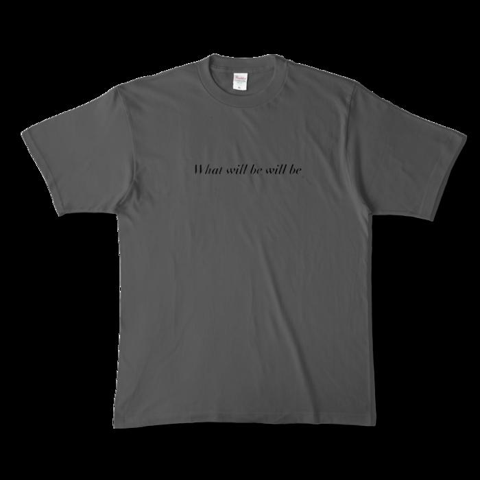 カラーTシャツ - XL - チャコール (濃色)