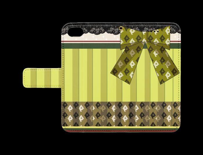 手帳型iPhoneケース - iPhone 8 / 7 - ストラップ穴 あり