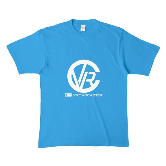 カラーTシャツ(濃色) - XL - ターコイズ