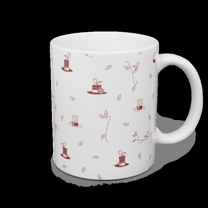 マグカップ - 直径8cm / 高さ9.5cm