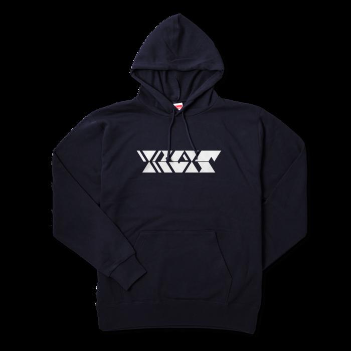 ピュアホワイト - XL - ネイビー
