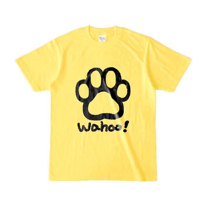カラーTシャツ(濃色) - S - イエロー