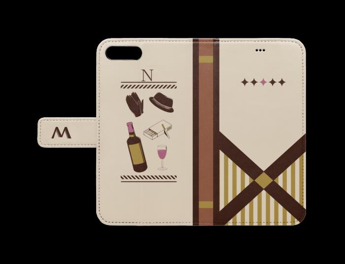 手帳型iPhoneケース - iPhone7 Plus/8 Plus - ストラップ穴 なし