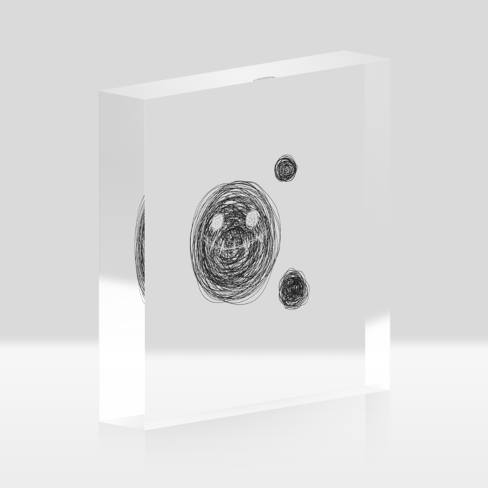 アクリルブロック - 100x100mm
