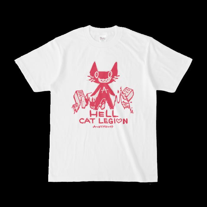 暗黒猫Tシャツ - S