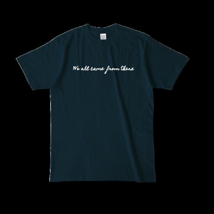 カラーTシャツ - L - ネイビー