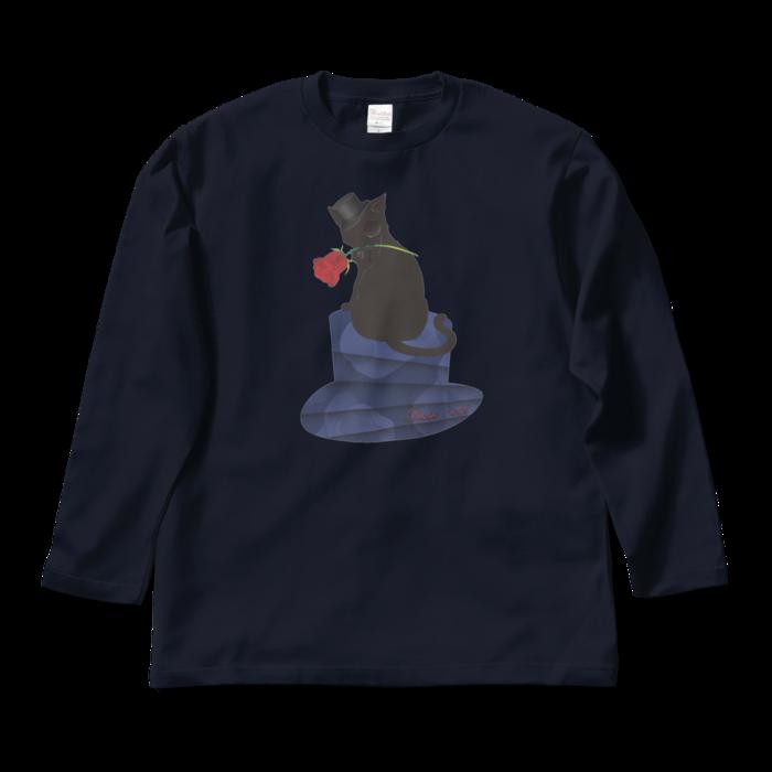 ロングスリーブTシャツ - L - ネイビー