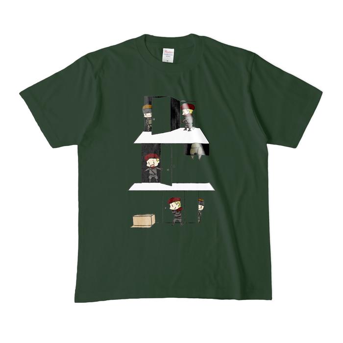 カラーTシャツ(濃色) - M - フォレスト