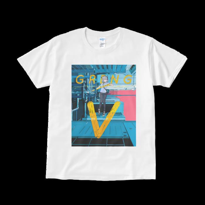 Tシャツ - L - ホワイト