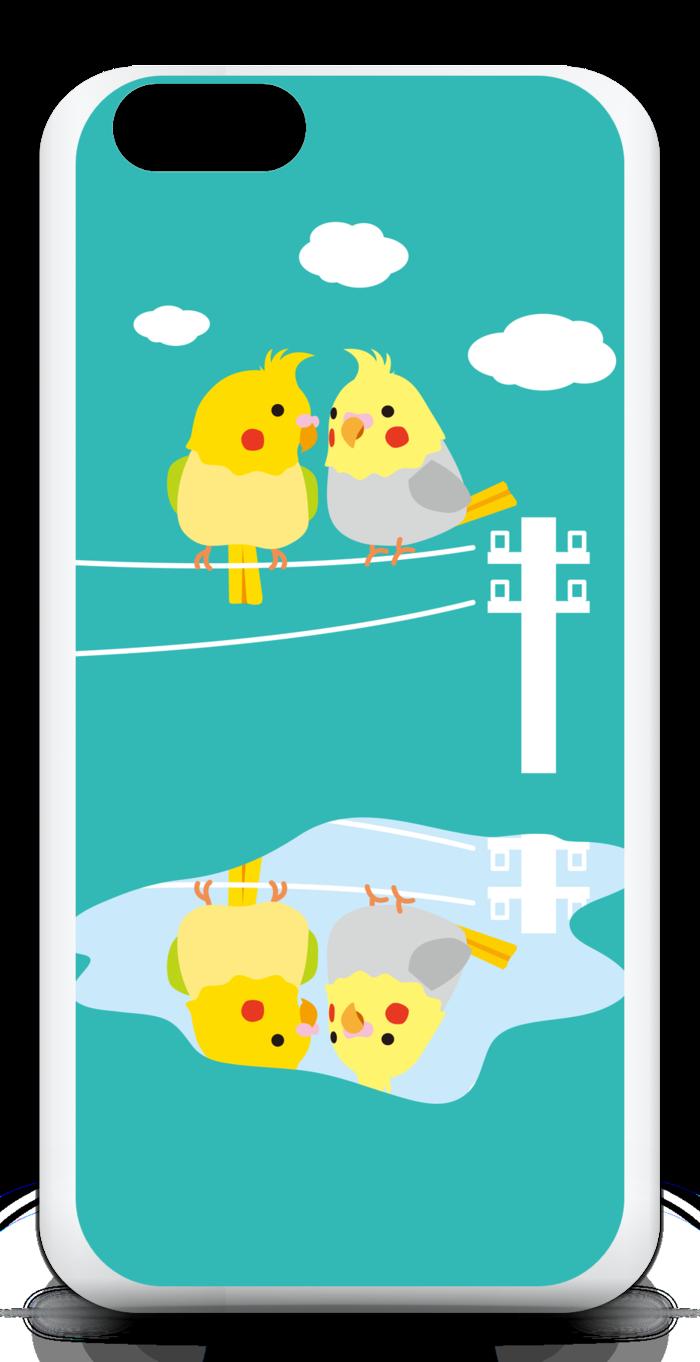 【ブルー】iPhone6ケース