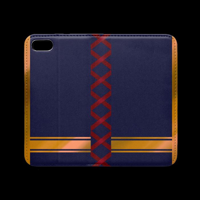 手帳型iPhoneケース(ベルトなし) - iPhone 5 / 5s / SE - ストラップ穴 なし