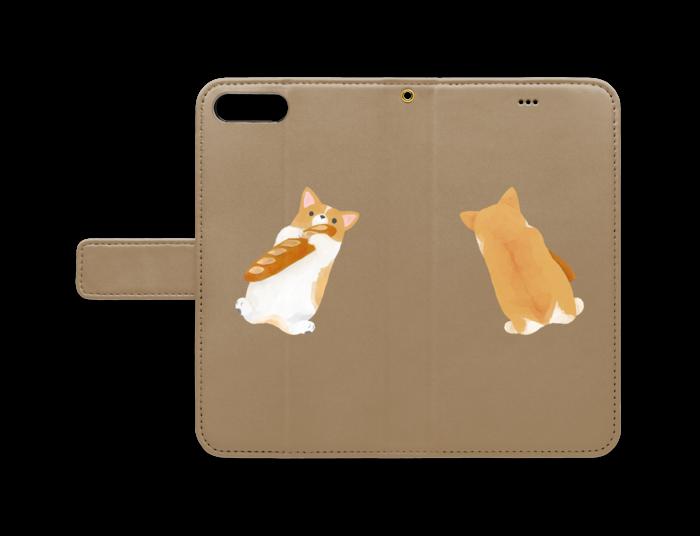 手帳型iPhoneケース - iPhone 8 Plus / 7 Plus - ストラップ穴 あり
