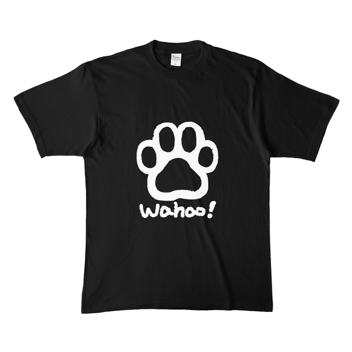 カラーTシャツ(濃色) - XL - ブラック