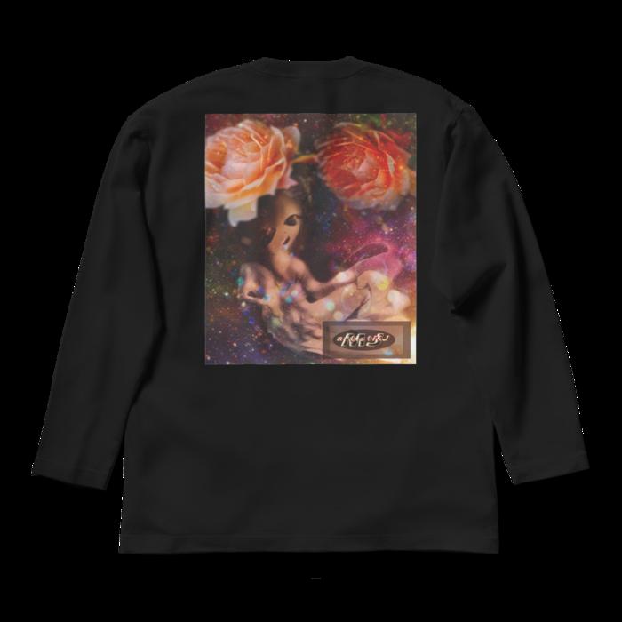 ロングスリーブTシャツ - L - ブラック