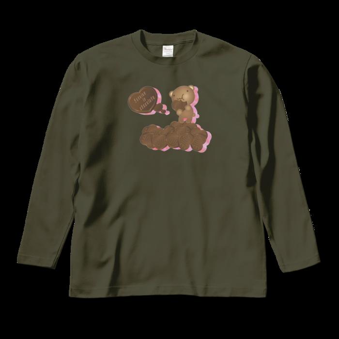ロングスリーブTシャツ - M - アーミーグリーン