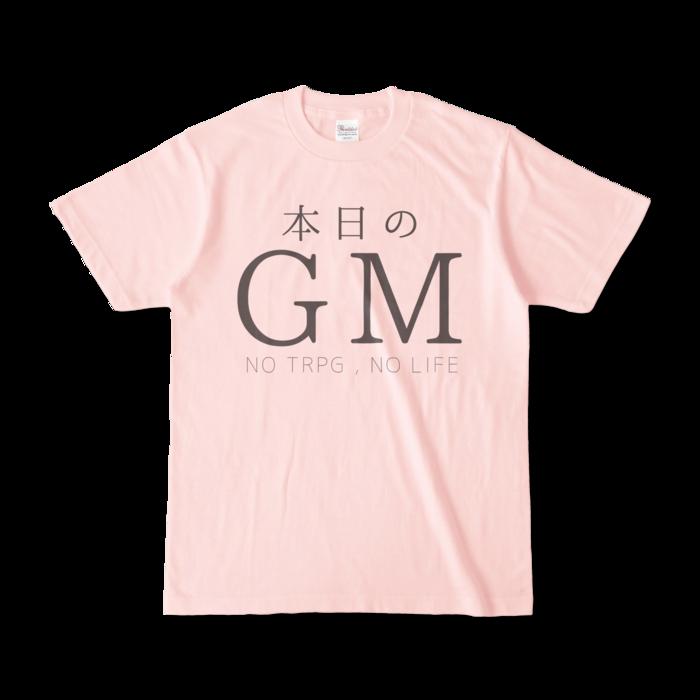 カラーTシャツ - S - ライトピンク