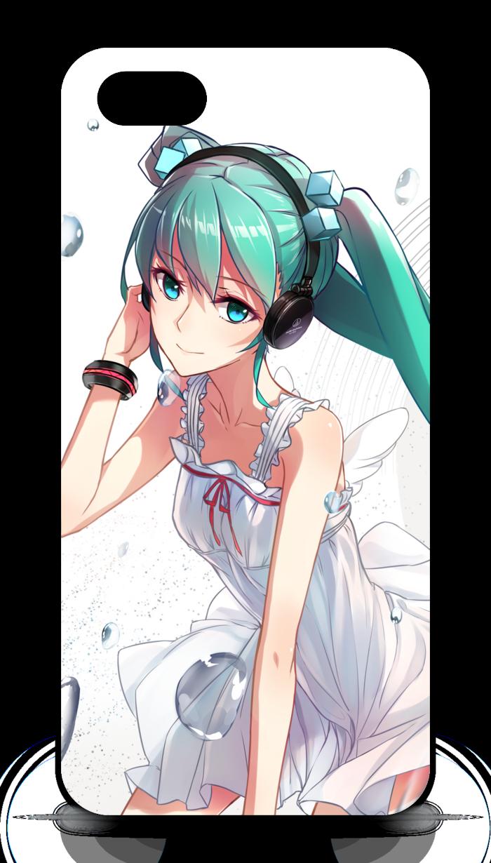 iPhoneケース - iPhone5 - 側面あり - 白