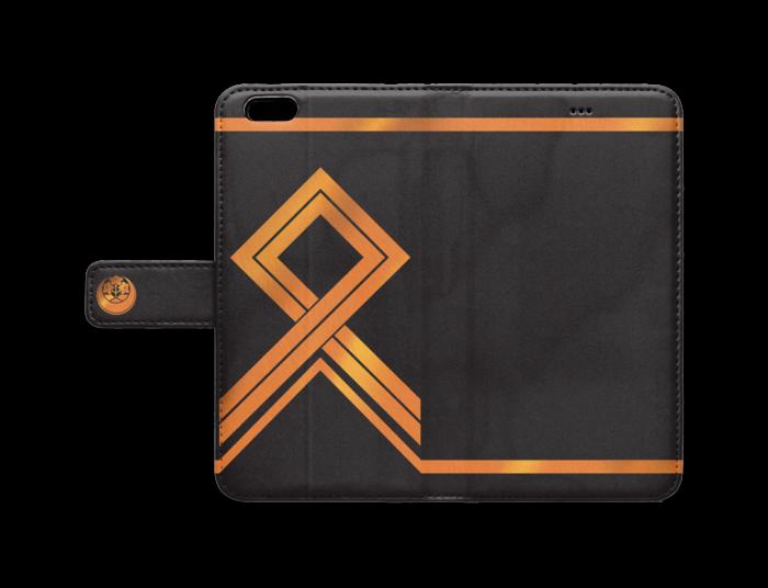 手帳型iPhoneケース - iPhone 6 Plus / 6s Plus - ストラップ穴 なし