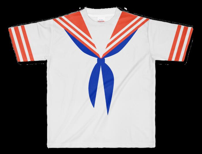フルグラフィックTシャツ - L - 両面印刷