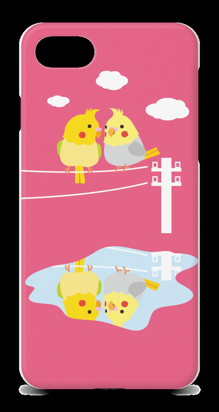 【ピンク】 iPhone7ケース