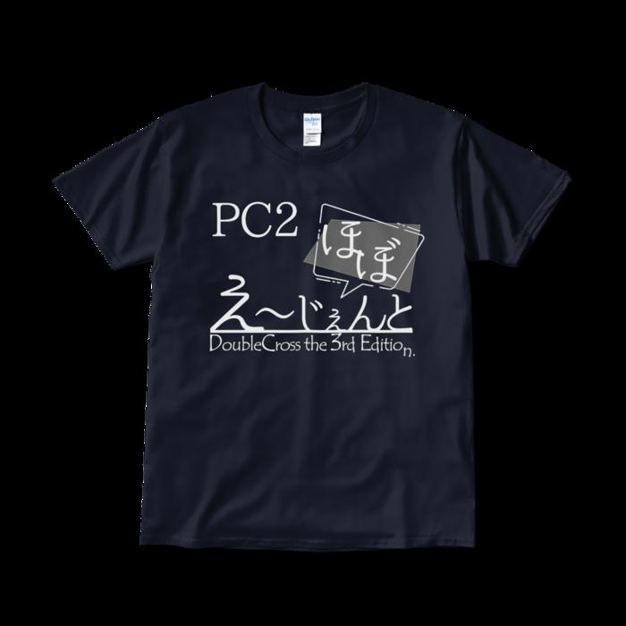 Tシャツ - L - ネイビー