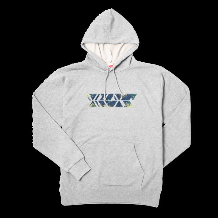 アーバンネイビー - XL - 杢グレー