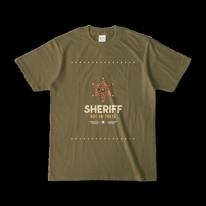 カラーTシャツ - S - オリーブ (濃色)