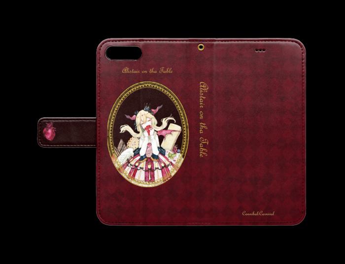 手帳型iPhoneケース - iPhone7 Plus - ストラップ穴 あり