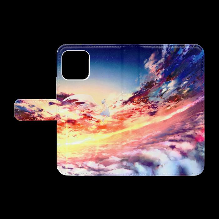 手帳型iPhoneケース - iPhone12 / 12 Pro - ストラップ穴 なし