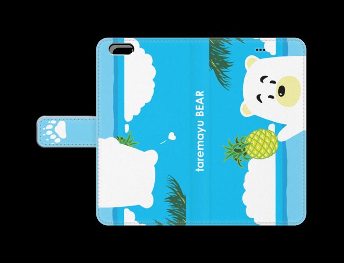 手帳型iPhoneケース - iPhone6 PlusデザインB